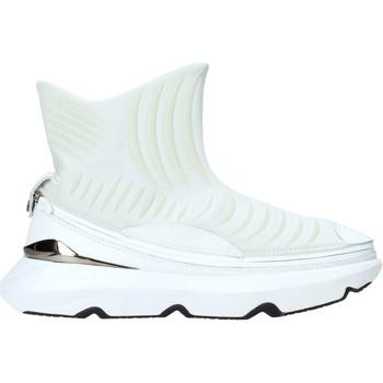 Zapatos Hombre Zapatillas altas Ea7 Emporio Armani X8Z019 XK121 Blanco