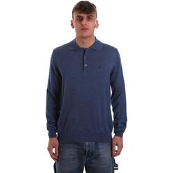 textil Hombre Polos manga larga Navigare NV11006 40 Azul