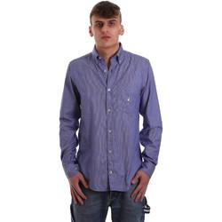 textil Hombre Camisas manga larga Navigare NV91068 BD Azul