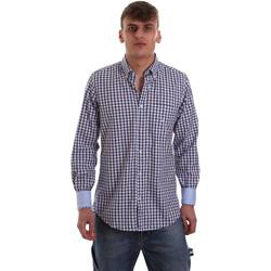 textil Hombre Camisas manga larga Navigare NV91072 BD Azul