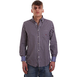 textil Hombre Camisas manga larga Navigare NV91074 BD Rojo