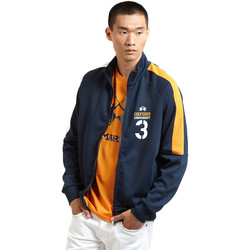 textil Hombre Chaquetas de deporte La Martina OMF606 FP077 Azul