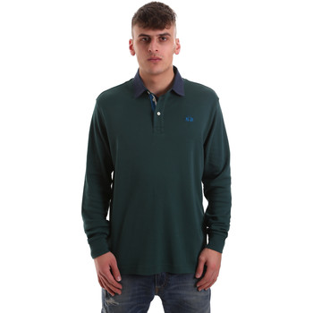 textil Hombre Polos manga larga La Martina OMP007 JS169 Verde