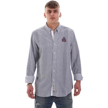 textil Hombre Camisas manga larga La Martina OMC021 PP472 Blanco