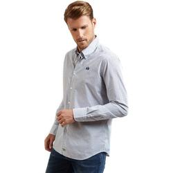 textil Hombre Camisas manga larga La Martina OMC016 PP462 Azul