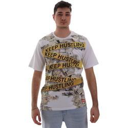 textil Hombre Camisetas manga corta Sprayground SP017S Blanco