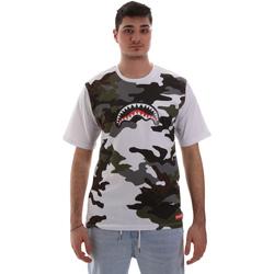 textil Hombre Camisetas manga corta Sprayground SP023S Blanco