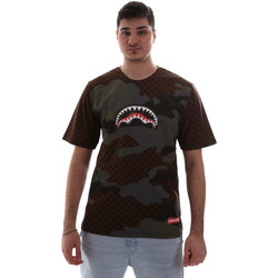 textil Hombre Camisetas manga corta Sprayground SP018SBRO Marrón