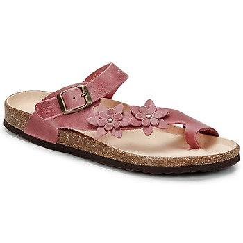 Zapatos Mujer Chanclas Dream in Green MINIK Fucsia