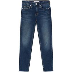 textil Mujer Vaqueros slim Calvin Klein Jeans J20J211886 Azul