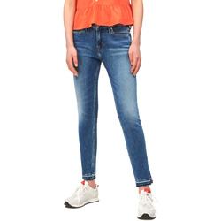 textil Mujer Vaqueros slim Calvin Klein Jeans J20J211434 Azul