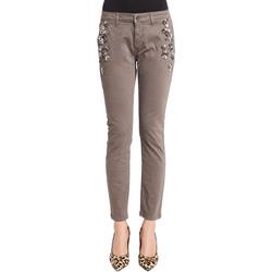 textil Mujer Pantalones chinos Denny Rose 921ND25003 Gris