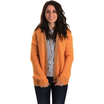 textil Mujer Chaquetas de punto Gaudi 921BD53041 Amarillo