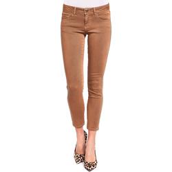 textil Mujer Pantalones con 5 bolsillos Gaudi 921BD25015 Marrón