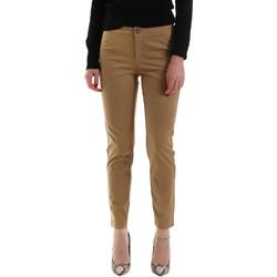 textil Mujer Pantalones chinos NeroGiardini A960700D Marrón