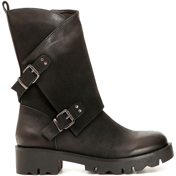 Zapatos Mujer Botas urbanas Café Noir FE954 Negro