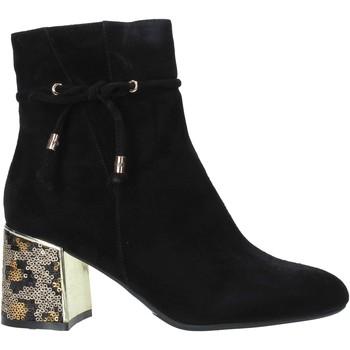 Zapatos Mujer Botines Café Noir LA542 Negro