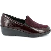 Zapatos Mujer Mocasín Grunland SC4775 Rojo