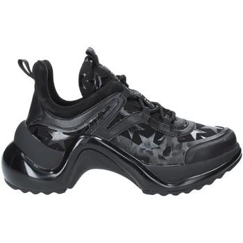 Zapatos Mujer Zapatillas bajas Studio Italia LOVE01 Negro