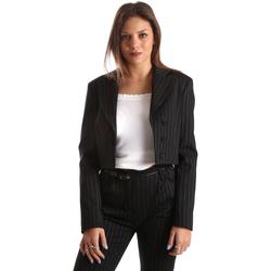 textil Mujer Chaquetas / Americana Fracomina FR19FP066 Negro