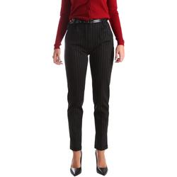 textil Mujer Pantalones chinos Fracomina FR19FP619 Negro
