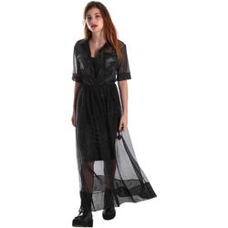 textil Mujer Vestidos largos Fracomina FR19FM567 Negro