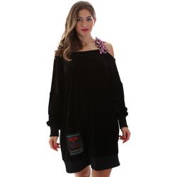 textil Mujer Vestidos cortos Versace B6HUB77011684899 Negro