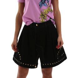 textil Mujer Faldas Versace A9HUB301APD3W899 Negro