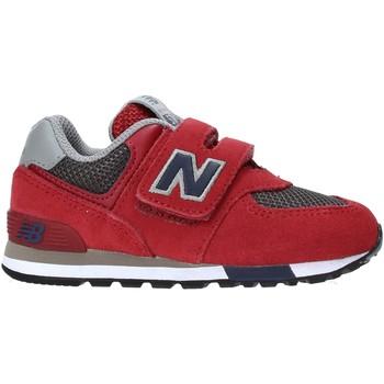 Zapatos Niños Zapatillas bajas New Balance NBIV574FNB Rojo