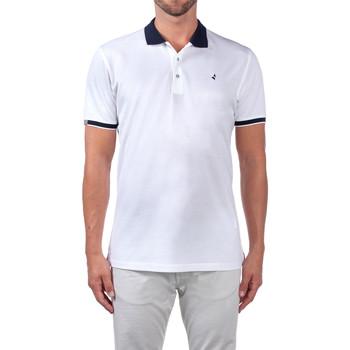 textil Hombre Polos manga corta Navigare NV72058 Blanco