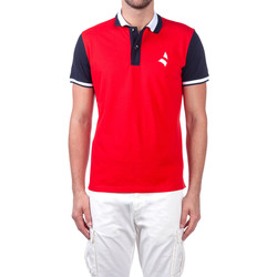 textil Hombre Polos manga corta Navigare NV82115 Rojo