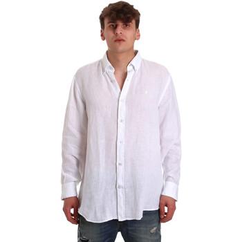 textil Hombre Camisas manga larga Navigare NV91108 Blanco