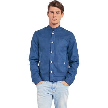 textil Hombre Chaquetas Gaudi 011BU38005 Azul