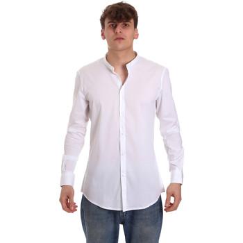 textil Hombre Camisas manga larga Gaudi 011BU45013 Blanco
