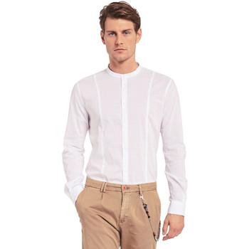 textil Hombre Camisas manga larga Gaudi 011BU45031 Blanco
