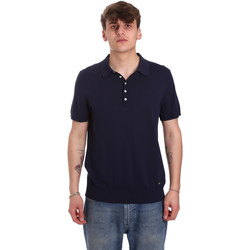 textil Hombre Polos manga corta Gaudi 011BU53011 Azul