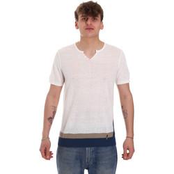 textil Hombre Camisetas manga corta Gaudi 011BU53021 Beige