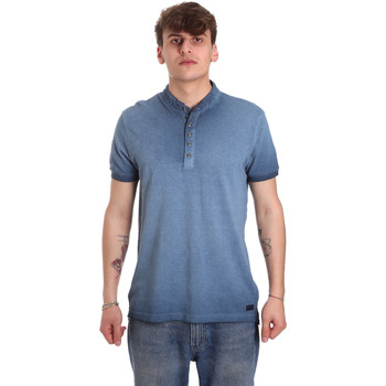 textil Hombre Polos manga corta Gaudi 011BU64018 Azul