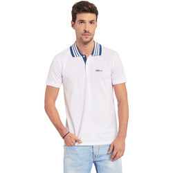 textil Hombre Polos manga corta Gaudi 011BU64044 Blanco
