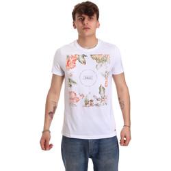textil Hombre Camisetas manga corta Gaudi 011BU64070 Blanco