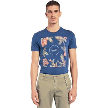 textil Hombre Camisetas manga corta Gaudi 011BU64070 Azul