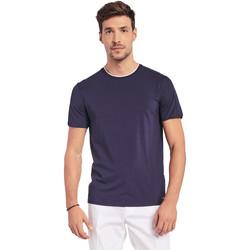 textil Hombre Camisetas manga corta Gaudi 011BU64087 Azul