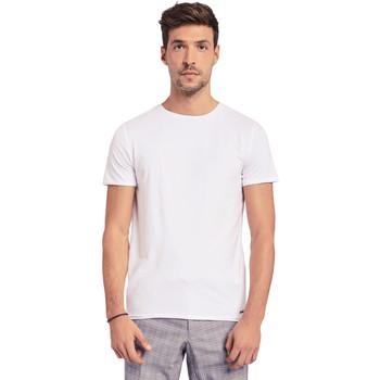 textil Hombre Camisetas manga corta Gaudi 011BU64093 Blanco