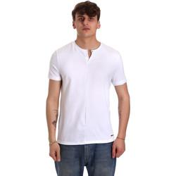 textil Hombre Camisetas manga corta Gaudi 011BU64094 Blanco
