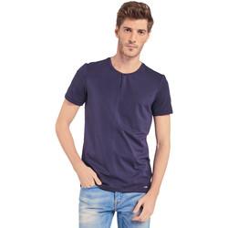 textil Hombre Camisetas manga corta Gaudi 011BU64094 Azul