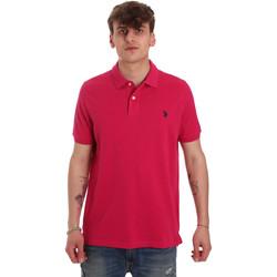 textil Hombre Polos manga corta U.S Polo Assn. 55957 41029 Rosado