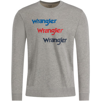textil Hombre Sudaderas Wrangler W6A5HAX37 Gris