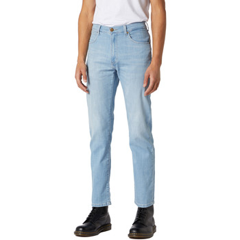 textil Hombre Vaqueros Wrangler W12OQ1159 Azul