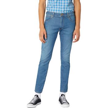 textil Hombre Vaqueros slim Wrangler W18SQ1156 Azul