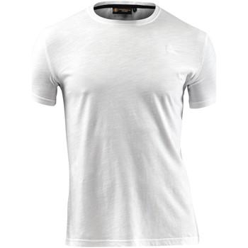 textil Hombre Camisetas manga corta Lumberjack CM60343 004 517 Blanco